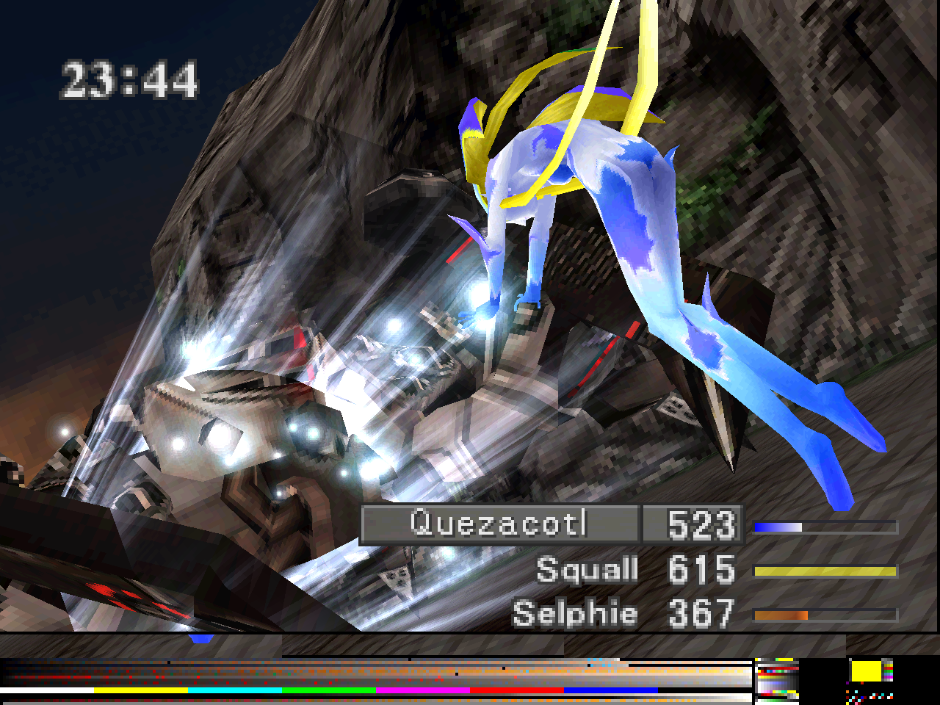 Final Fantasy VIII with experimental GL renderer