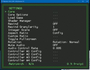 RetroArch 0.9.9-2