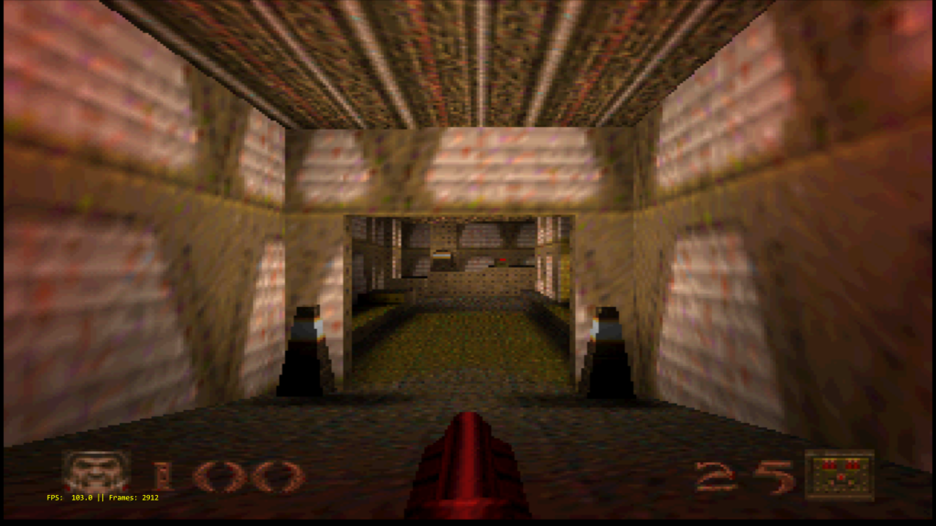 Quake 64 on Parallel N64 - tested with both Angrylion and Parallel