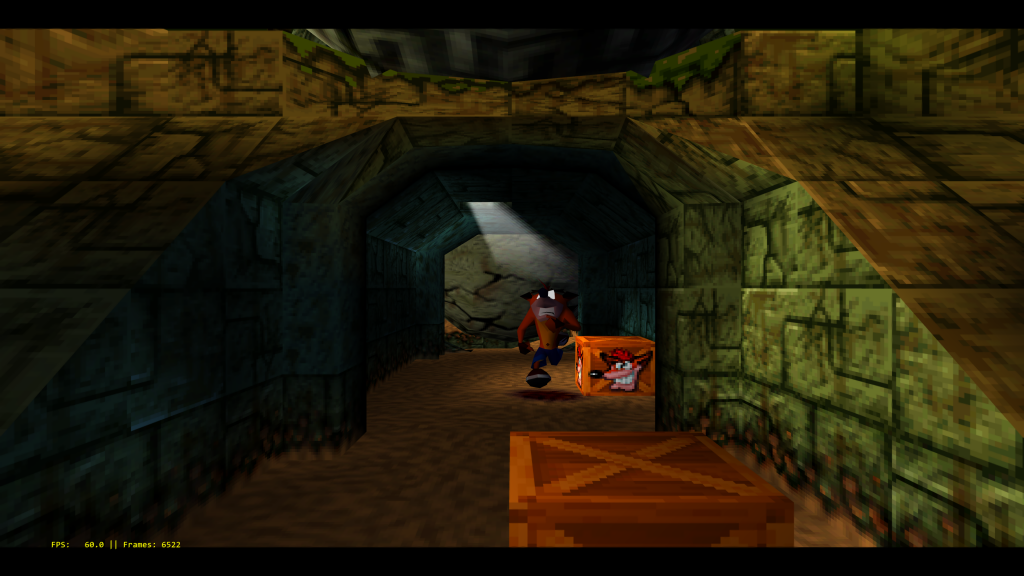 Crash Bandicoot running at over 10K. Note this is being downsampled to 4K.