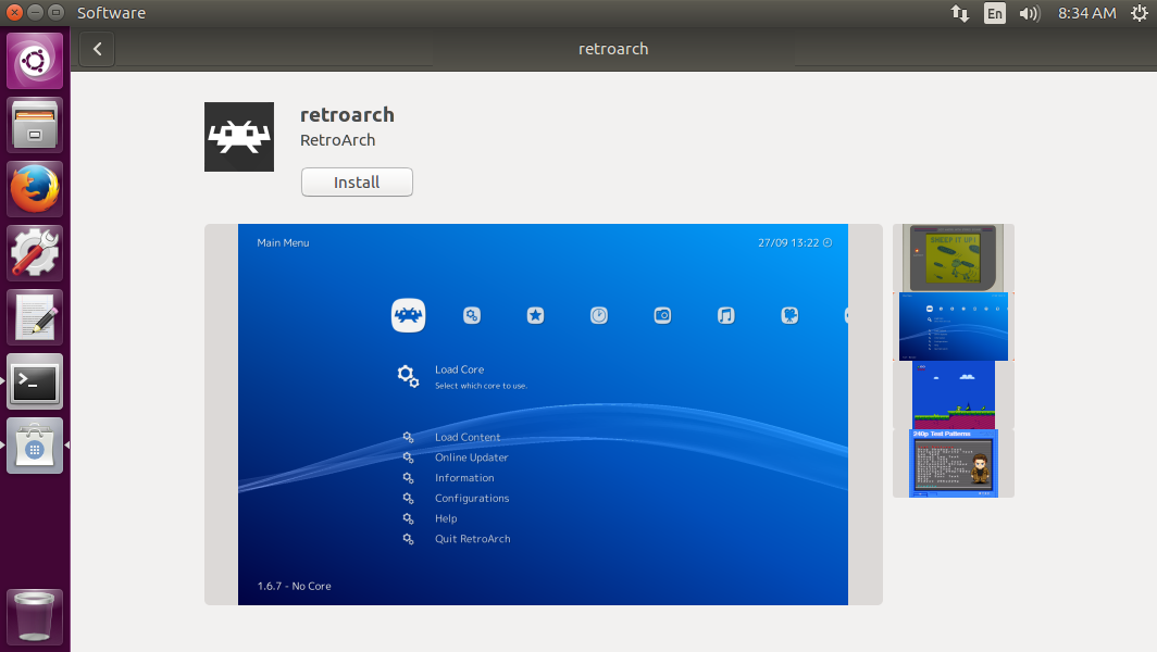 RetroArch Snap Packages Now Available – Libretro