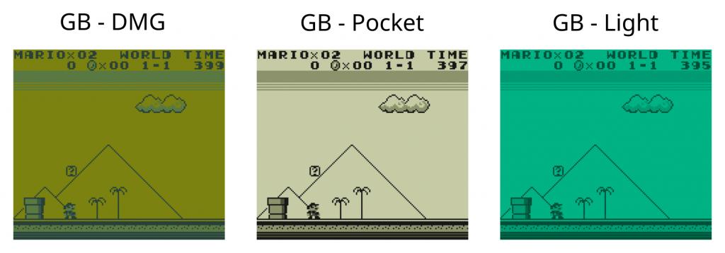 Game Boy Color Palette | Games Wallpaper For Desktop