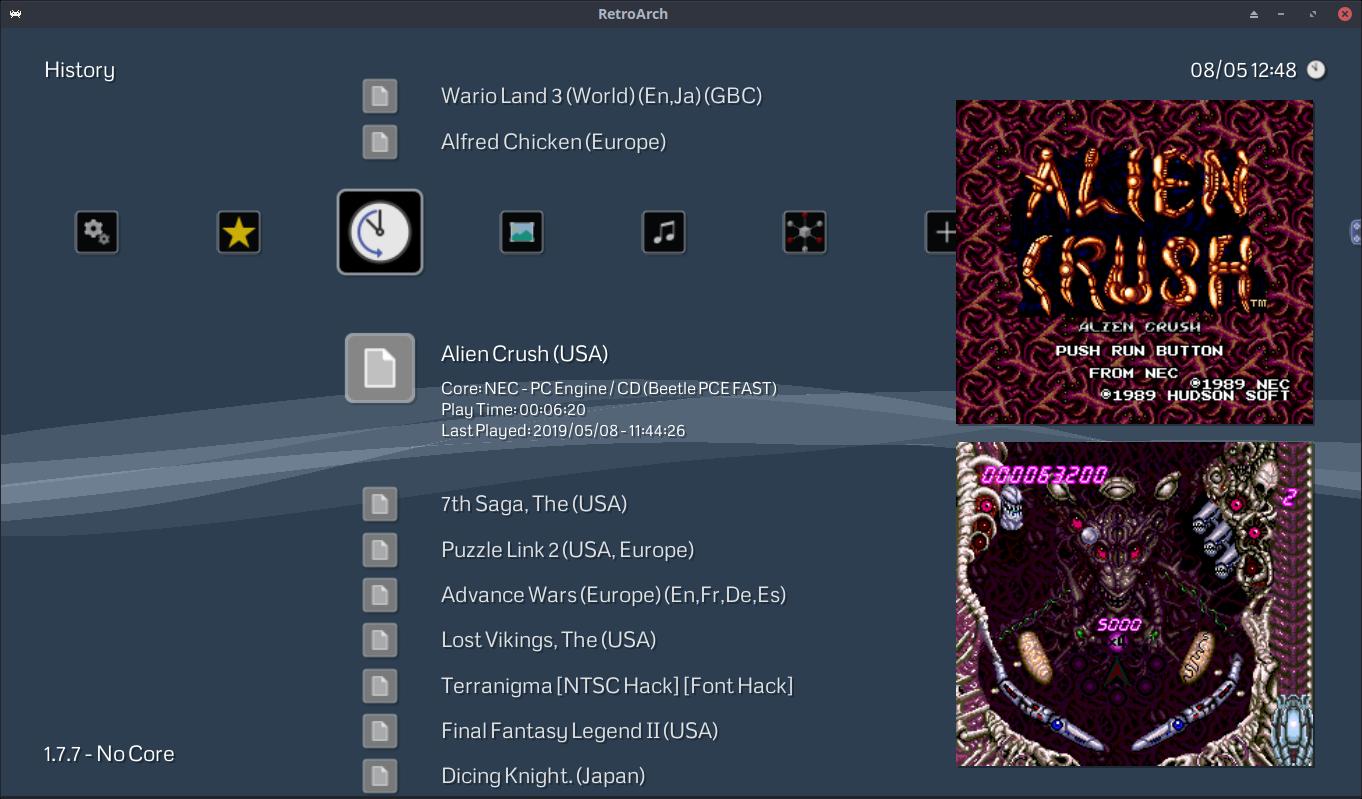 508fb405907 RetroArch 1.7.7 – UI Updates – Libretro