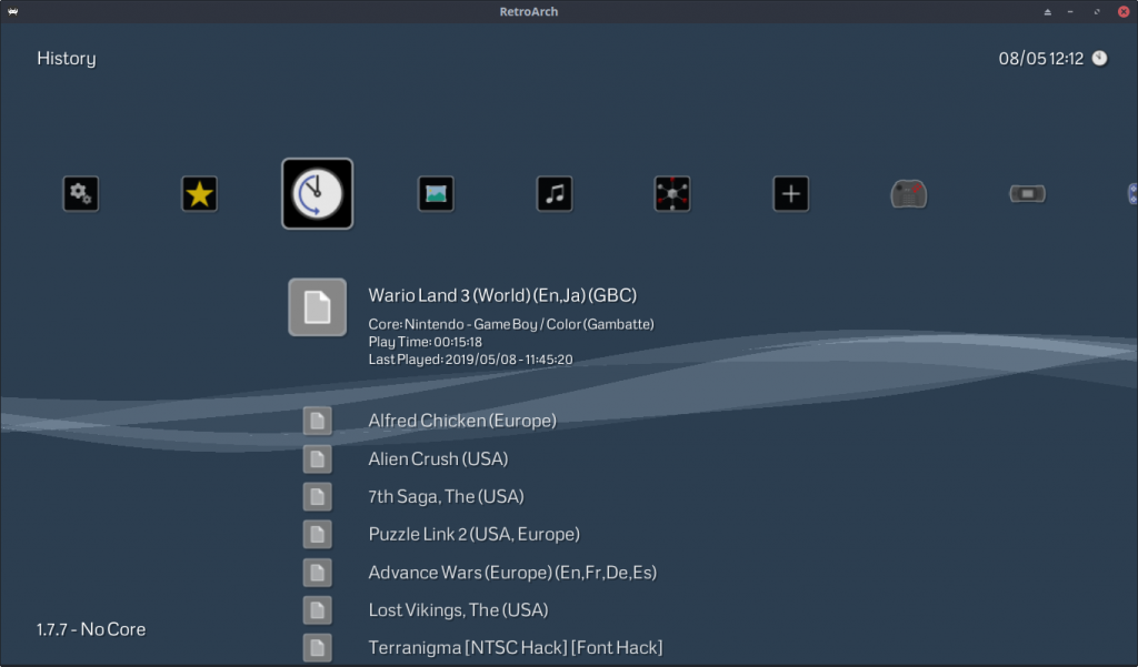 Content Runtime: XMB